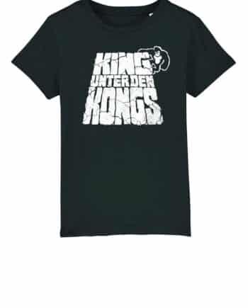 kinder shirt schwarz jungle Philip Schlaffer - King unter den Kongs