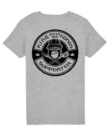 shirt kinder grau silverback rocker Philip Schlaffer - King unter den Kongs